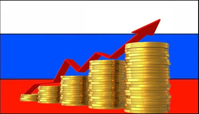 rysk ekonomi stiger